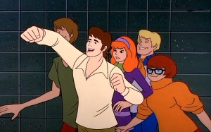 """""""He did it! Scooby did it! And I have a monster monkey arm!!!"""""""