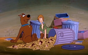 """Zoinks! Loads of Jimmy Lewis records! In the trash!"""
